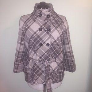 Adorable plaid jacket